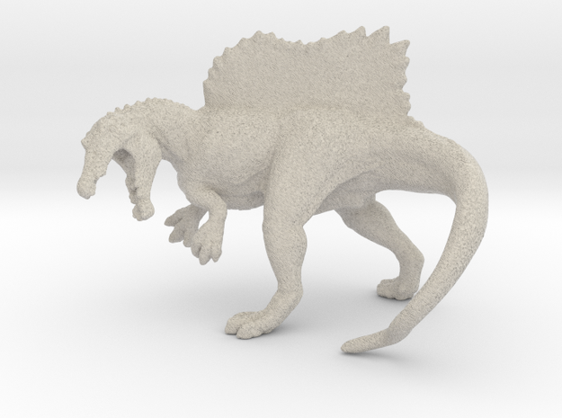 Spinosaurus Color 3d printed Spinosaurus blank in sandstone by ©2012 RareBreed