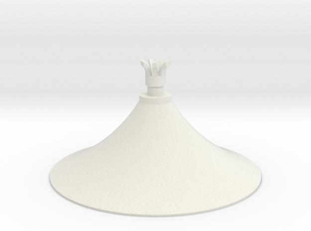 Austausch 6 für Faller Standard-Dach (H0 scale) in White Strong & Flexible