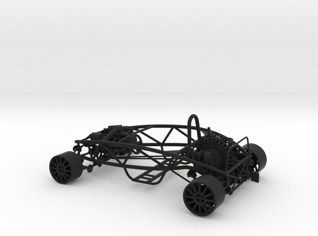 Ariel Atom 1/24th scale model w/motor 3d printed