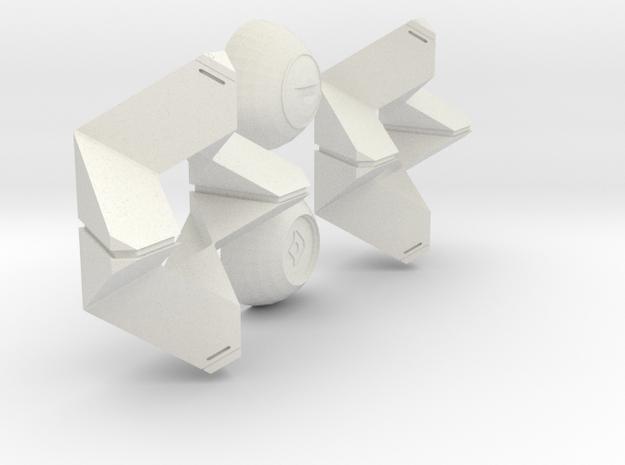 Little Light (Life-Size - Hollow) in White Natural Versatile Plastic