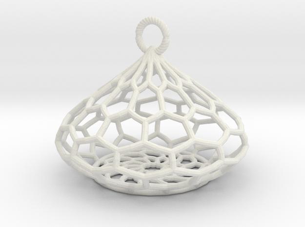 Tear Drop Basket 3d printed