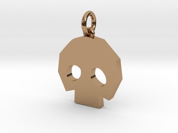 Gold Skulltula token pendant 3d printed