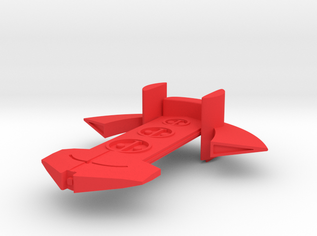 Thor Fleet Action 3d printed