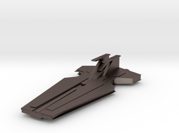 Copy Of Star Wars Venator-class Cruiser   Starwars in Polished Bronzed Silver Steel