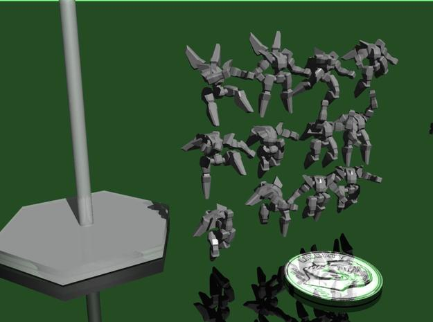 Defender Mechs 3d printed