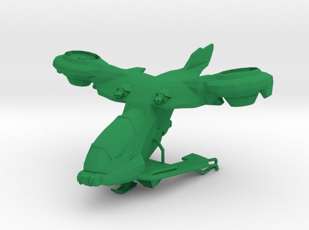 AV-14 Hornet in Green Processed Versatile Plastic