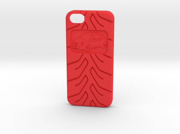iPhone 5 Fiat 500 A048 tread 3d printed