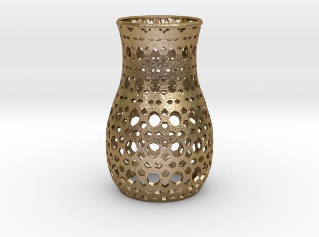 Geometric Tealight Sleeve - Large 3d printed