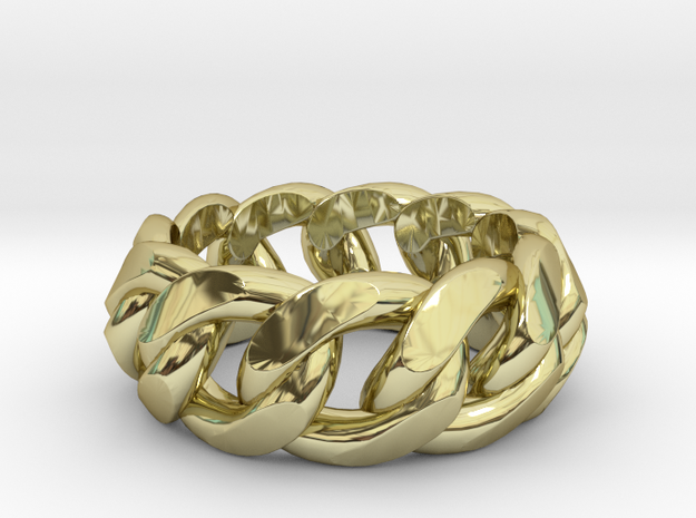 Chained Ring of Honor 3d printed
