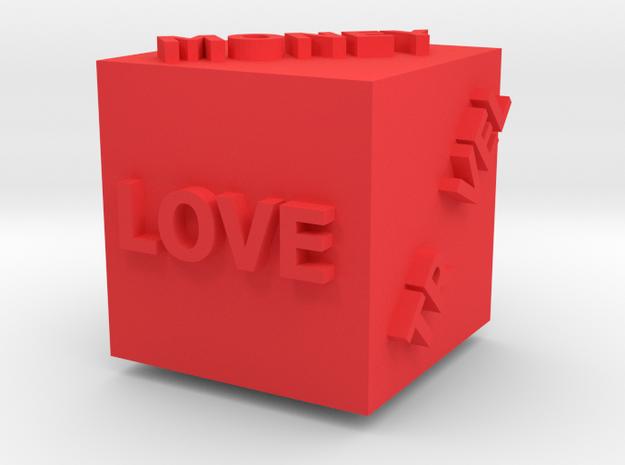 Cub of whishies in Red Processed Versatile Plastic