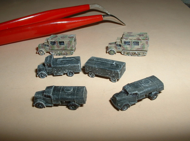 Opel Blitz Variants 1/285 6mm 3d printed