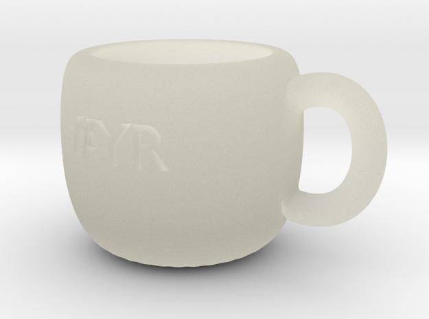 #YR Mug in Transparent Acrylic