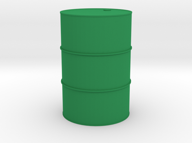 Oil drum 1/32 in Green Strong & Flexible Polished