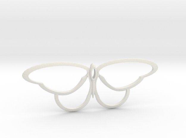 flutterfly m3 in White Natural Versatile Plastic