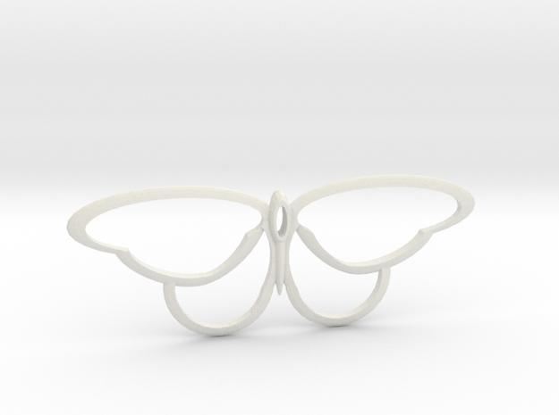 flutterfly m3 in White Natural Versatile Plastic
