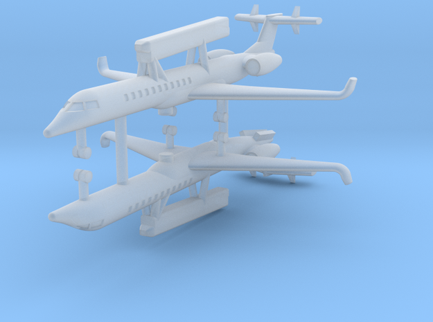 1/700 Embraer R-99 (EMB 145 Erieye) AEW&C (x2) in Smooth Fine Detail Plastic