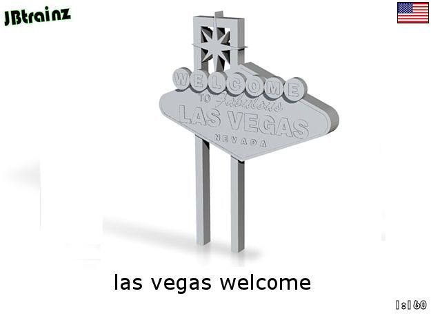 Las Vegas welcome (n-scale)