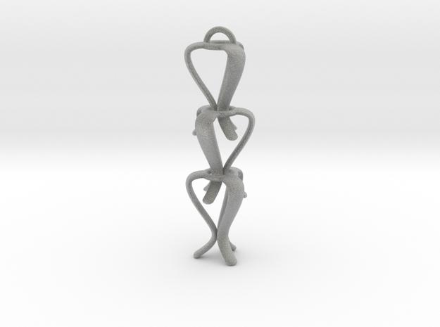 TULIP-earrings 3d printed