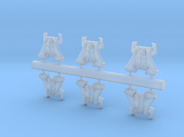 6 Arachnid Assault boats 3d printed