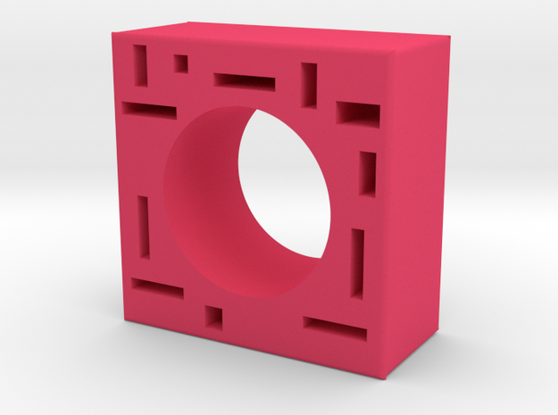 Mondrian ring 3d printed