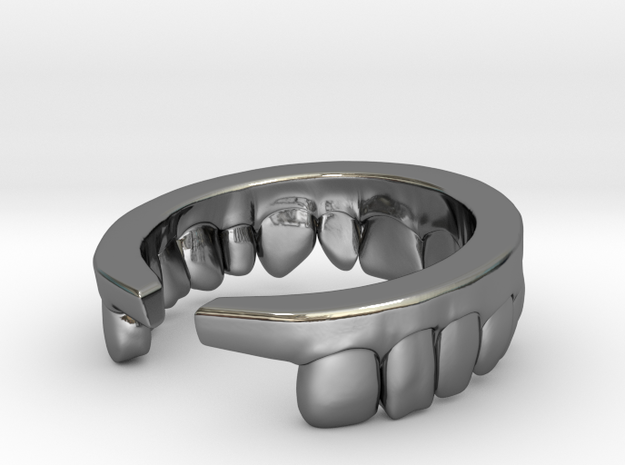 Upper Ring in Premium Silver