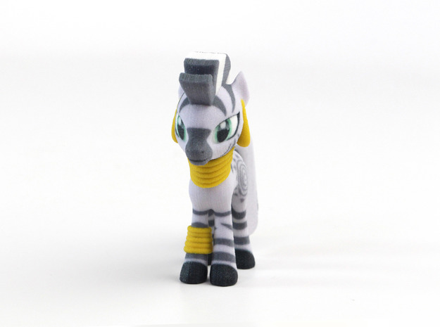 My Little Pony - Zecora (≈72mm tall) in Full Color Sandstone
