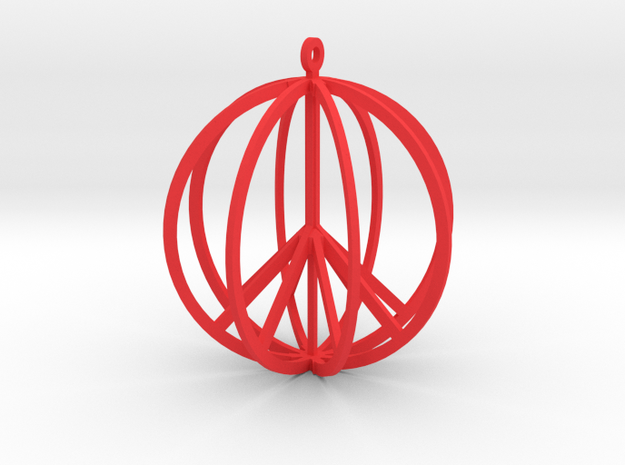 Global Peace 3d printed Global Peace Earring