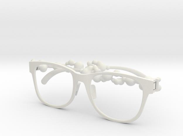 3Dglass_poko_poko in White Natural Versatile Plastic