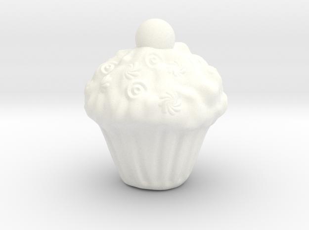 Yazdi Cake in White Strong & Flexible Polished