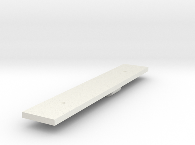 BM4-119 SAR Chassis for L5 and LS8 in White Natural Versatile Plastic