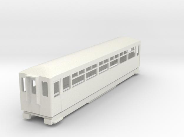 BM4-108 009 FR Coach 117 in White Strong & Flexible
