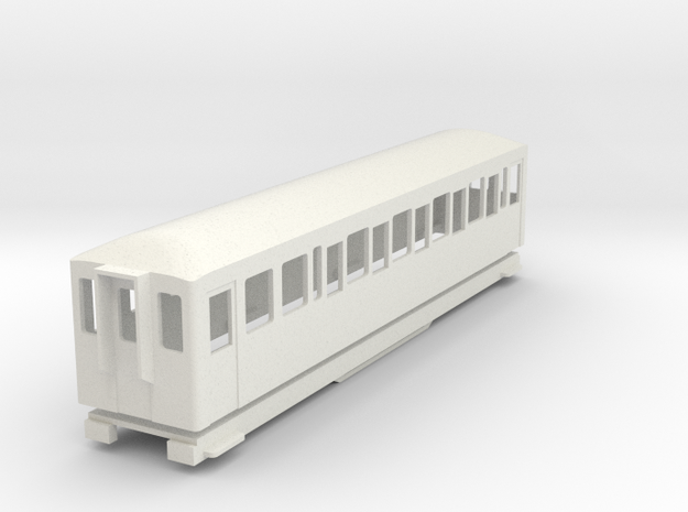 BM4-110 009 FR Coach 119/120 in White Strong & Flexible