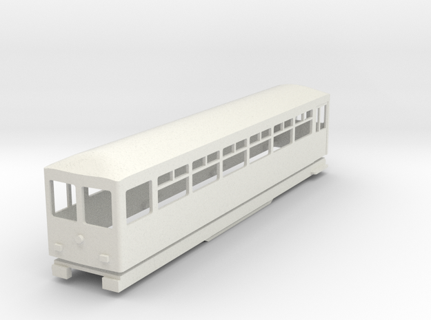 BM4-107 009 FR Coach 111 in White Natural Versatile Plastic