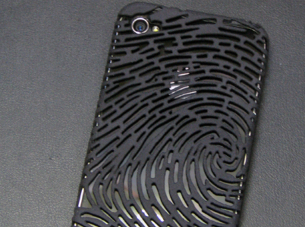 IPhone 4/4S - Finger print Case