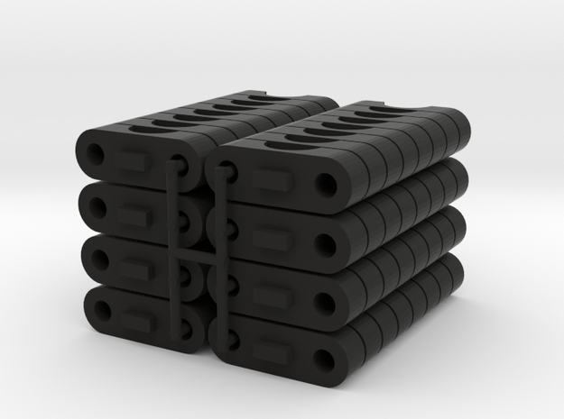 TKSO-0800-SET in Black Strong & Flexible