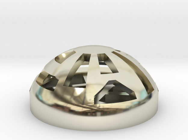 Button Dome 3d printed