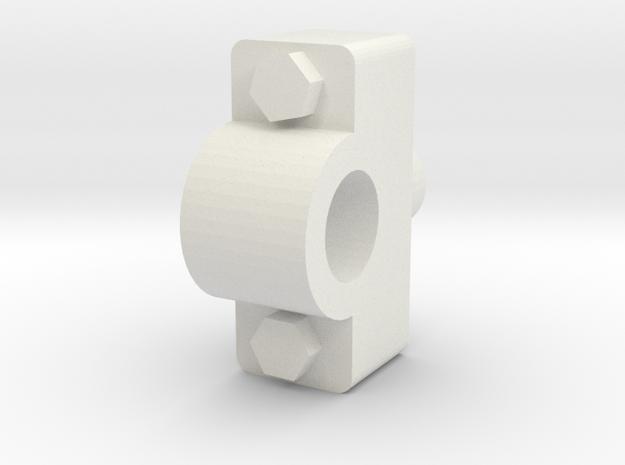 1.6CutLeverSupport.stl in White Natural Versatile Plastic