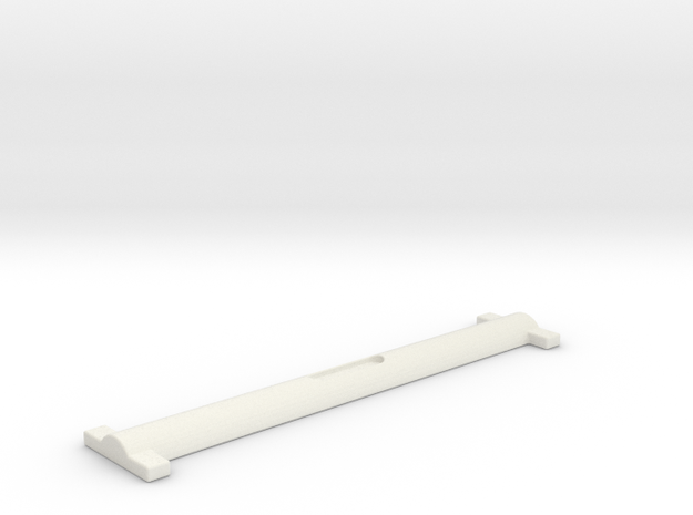 Scope I Bar in White Natural Versatile Plastic