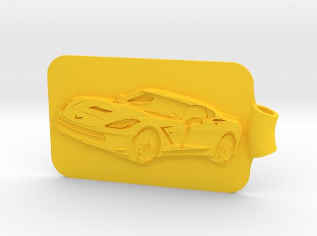 Corvette Key Fob 2 3d printed