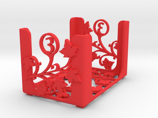 Arcadia Quest - Level 3 in Red Processed Versatile Plastic
