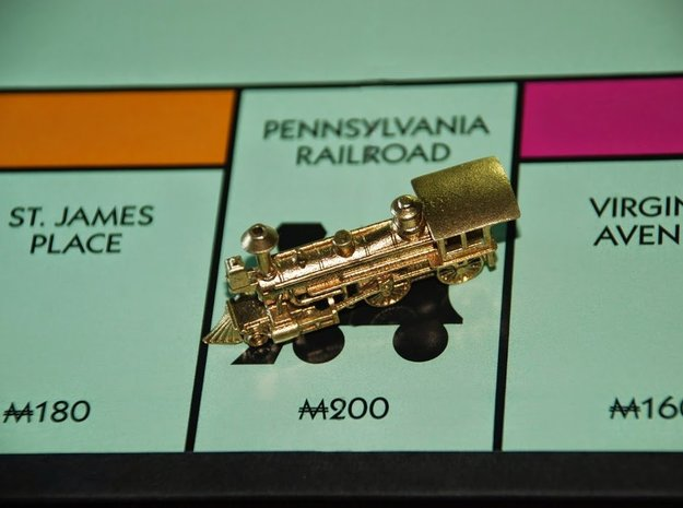 Grant 4-4-0 Metal - Zscale in Raw Brass