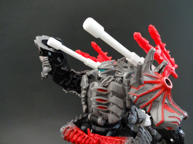 TF4 : AOE Warrior Of Colossus weapons in White Natural Versatile Plastic