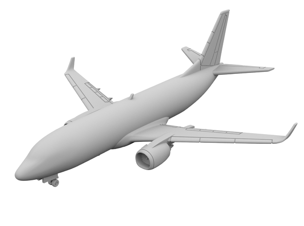 1:500 - 737-300_Winglets [Sprue] in Smooth Fine Detail Plastic