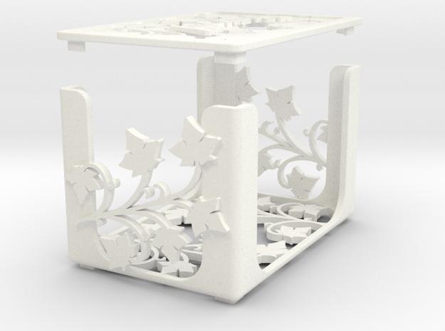 Arcadia Quest - blank + lid (mini cards) in White Processed Versatile Plastic