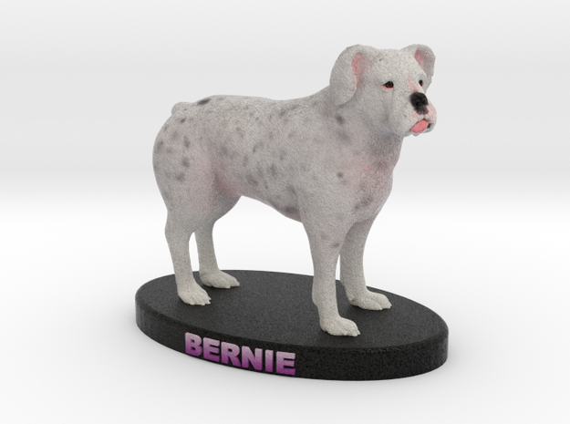 Custom Dog Figurine - Bernie 3d printed