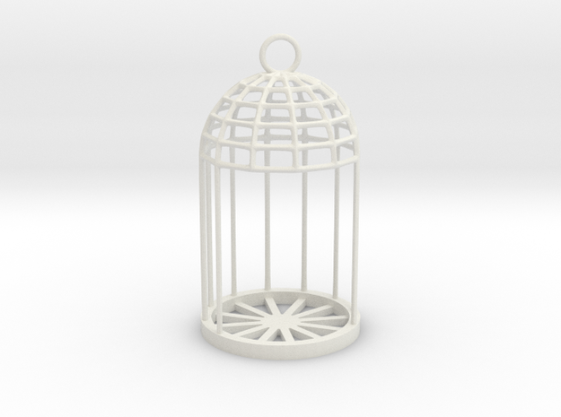 Christmas LED Tealight Lamp in White Natural Versatile Plastic