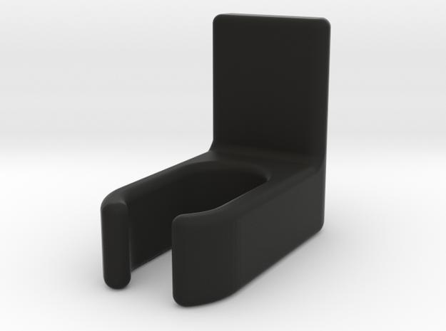 Bugaboo bag clip in Black Natural Versatile Plastic