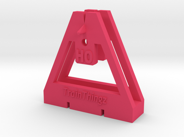 TrackToolz HO Gauge Spacing Tool 3d printed
