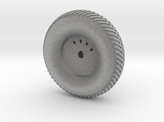 08B-LRV - Back Left Wheel in Metallic Plastic
