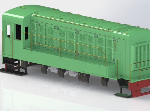 Reeks 84-2 NMBS / SNCB platform voor in Frosted Ultra Detail
